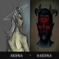 Aedra e Daedra (TES)