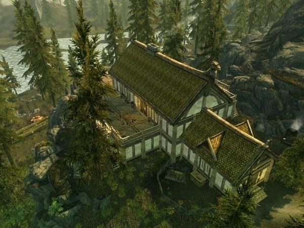 Lakeview Manor - Casa Hearthfire con Apiario