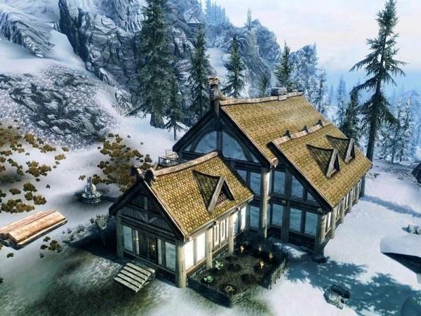 Heljarchen Hall - Casa Hearthfire con macina