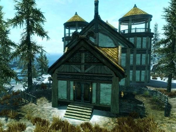 Windstad Manor - Casa Hearthfire con vivaio di pesci