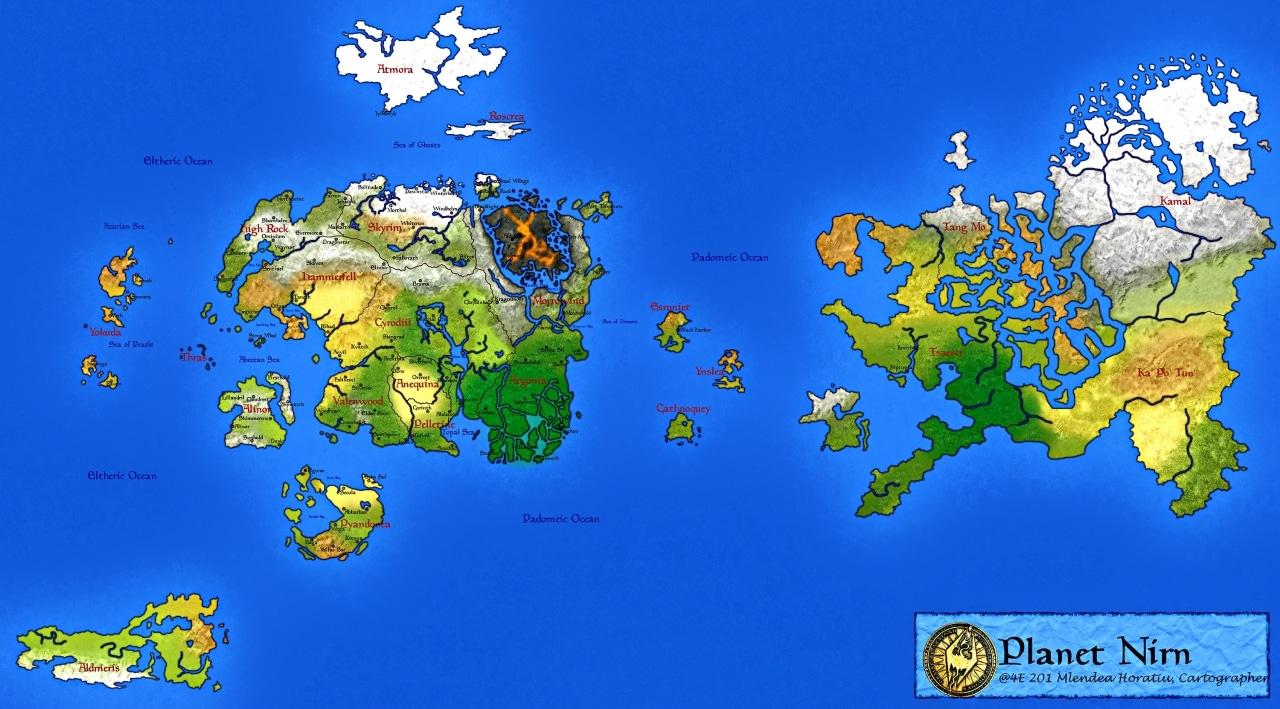 Nirn-map