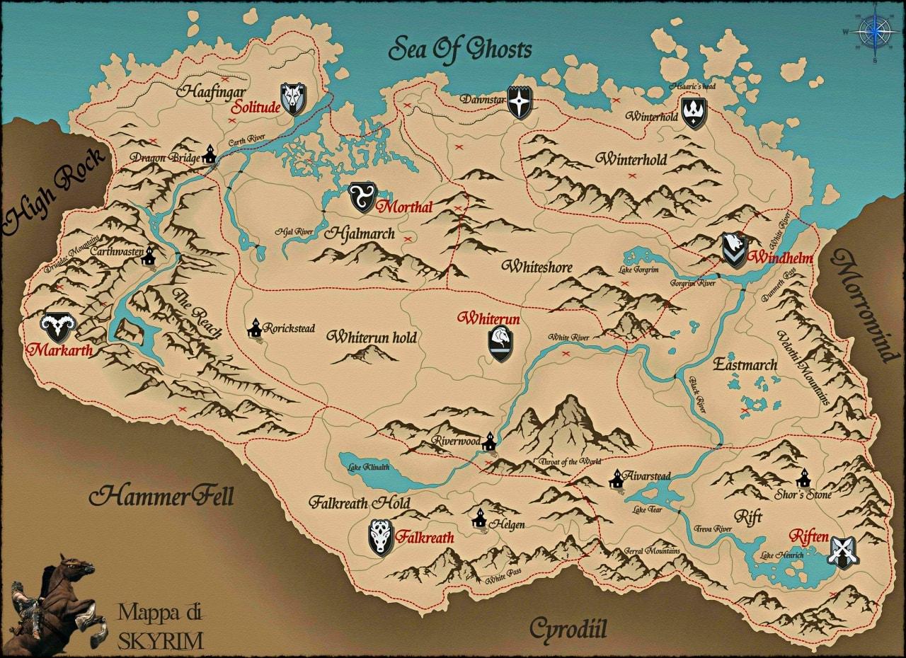 mappa-SKYRIM