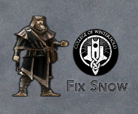 Fix Snow College of winterhold