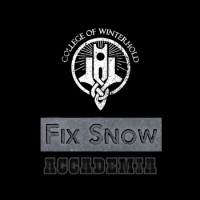 Skyrim College of Winterhold – Fix Snow