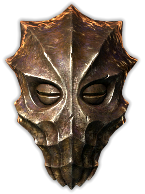 Dragonborn Maschera di Ahzidal