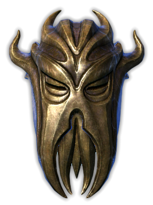 Dragonborn Miraak Mask