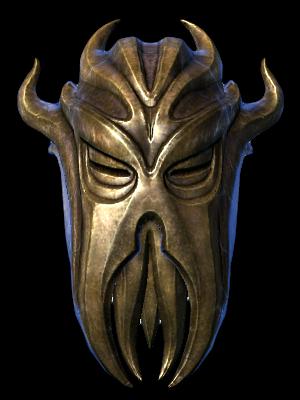 Dragonborn Miraak Mask
