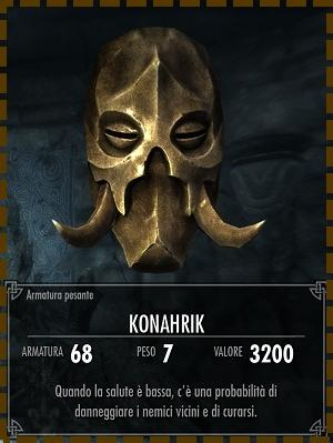 Maschera di Konahrik