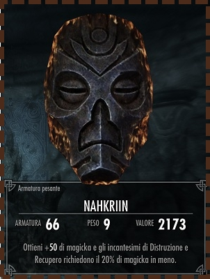 Maschera di Nahkriin