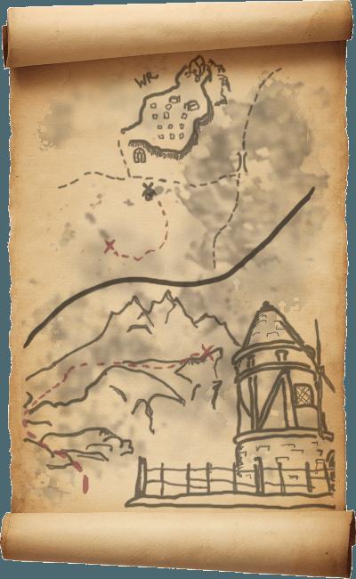 skyrim treasure maps le mappe del tesoro di skyrim
