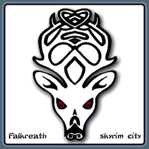 Falkreath -Symbol