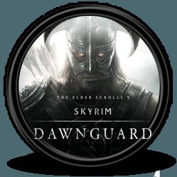 Skyrim logo dawnguard