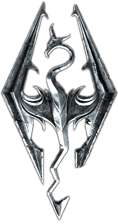 icon skyrim logo originale