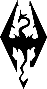 icona skyrim logo