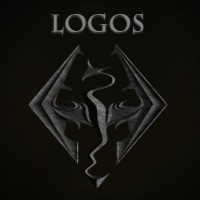 loghi skyrim logos