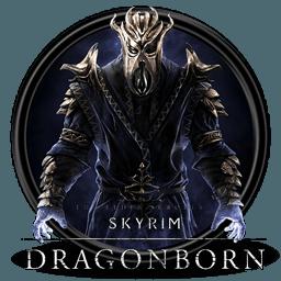 skyrim logo dragonborn